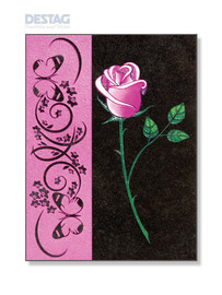 LP-040 Lapis Pictura »ROSE«<br /> 24 x 18 cm