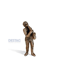 SY-120 Nr. K 023 »Musikant mit Saxophone«<br /> ca. 7,5 cm (h)